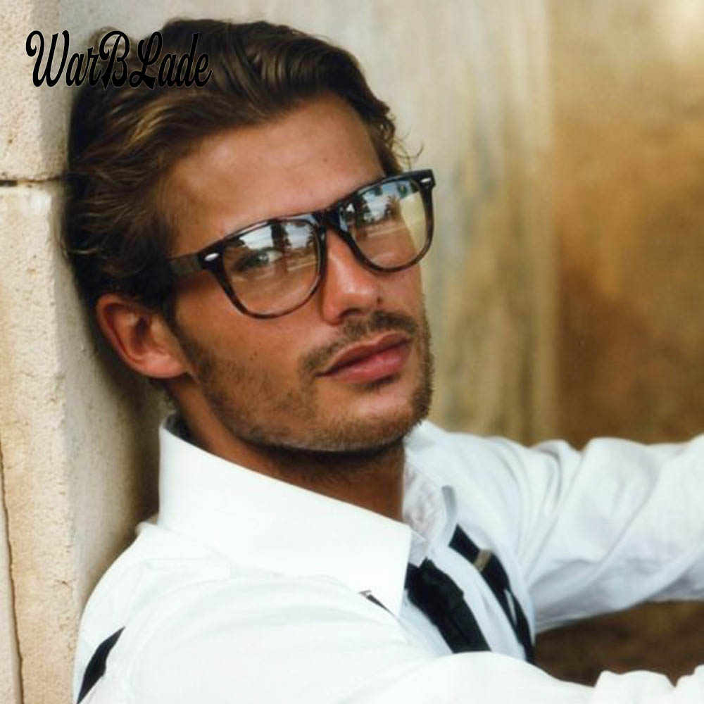 2018 Fashion Men Glasses Frame Women Glasses Clear Glass Brand Clear Transparent Glasses Optical Myopia Eyewear oculos de grau
