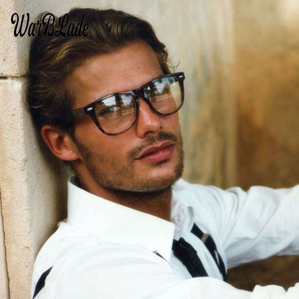2018 Fashion Men Glasses Frame Women Glasses Clear Glass Brand Clear Transparent Glasses Optical Myopia Eyewear Oculos De Grau