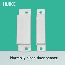10 Pcs דלת קשר חיישן פלסטיק דלת מגנט גלאי בדרך כלל קרוב מגנטי מתג אבטחת אבזרים