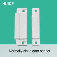 10 adet kapı kontak sensörü plastik kapı açık Alarm mıknatıs dedektörü normalde kapalı manyetik anahtar güvenlik aksesuarları