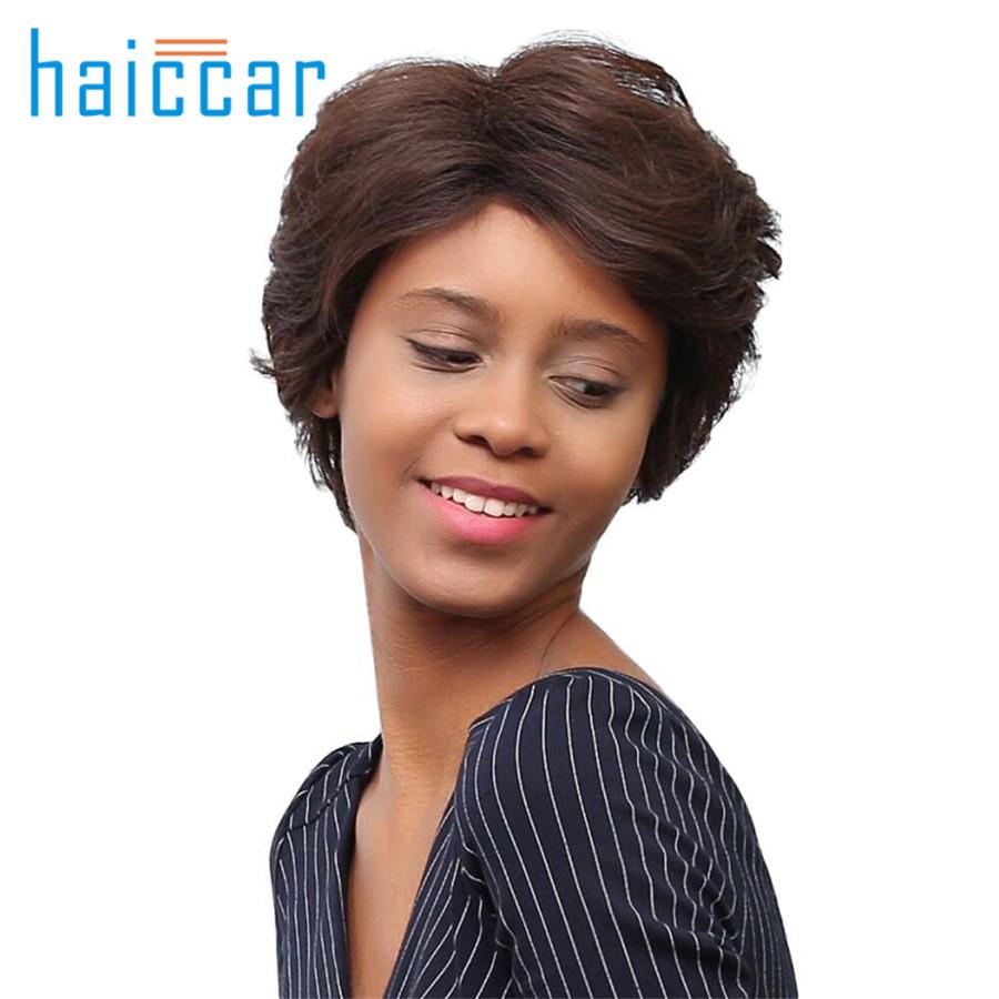 caliente de la manera peluca de pelo corto peinado pelucas sintticas del pelo corto para las
