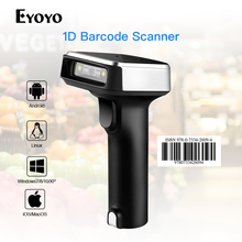 Eyoyo CCD 2,4G беспроводной сканер штрих-кодов для POS iPad iPhone телефон Планшеты Android или компьютеры ПК с usb-приемником