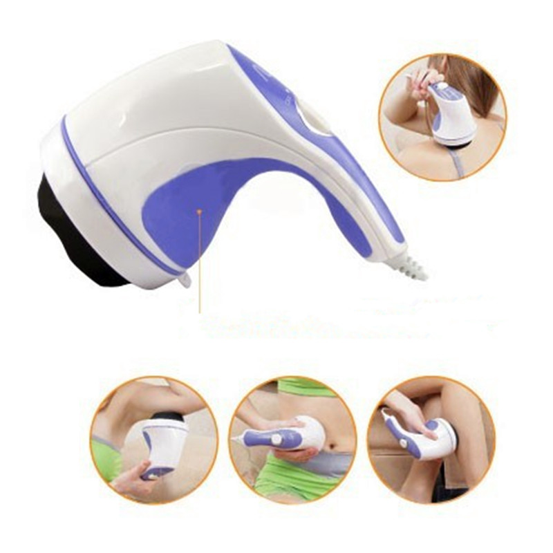 5 in 1 Electric Body Relax Massager Lose Weight Relaxtion Burn Fat Full Massage Device Slimming Relaxing Massage Tool