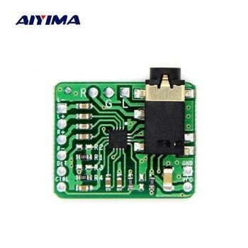 AIYIMA TPA6132 パワーアンプオーディオボードシングルポート出力 Amplificador HIFI ヘッドフォンアンプ DC2-3-5.5V