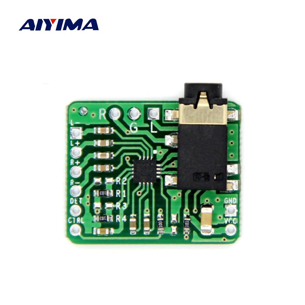 AIYIMA TPA6132 Power Amplifier Audio Board Single Port Output Amplificador HIFI Headphone Amp DC2-3-5.5V