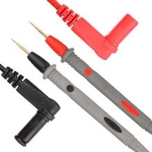 Набор тестовых проводов 106 см, 20А, 1000 В, позолоченный острый игольчатый зонд, мультиметр, тестовый провод с зажимом типа «крокодил», измерительные инструменты