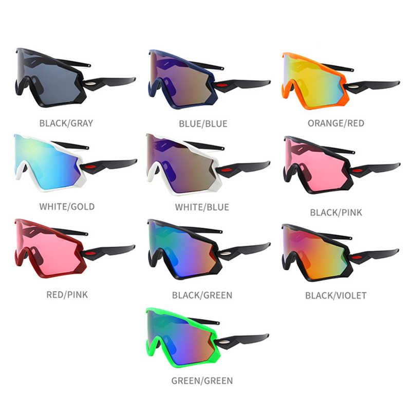 217a0fa1c7a9 ... UV400 Cycling Eyewear sunglass MTB Bike Bicycle Windproof Goggles  Outdoor Sport Glasses Large frame Racing Eyewear