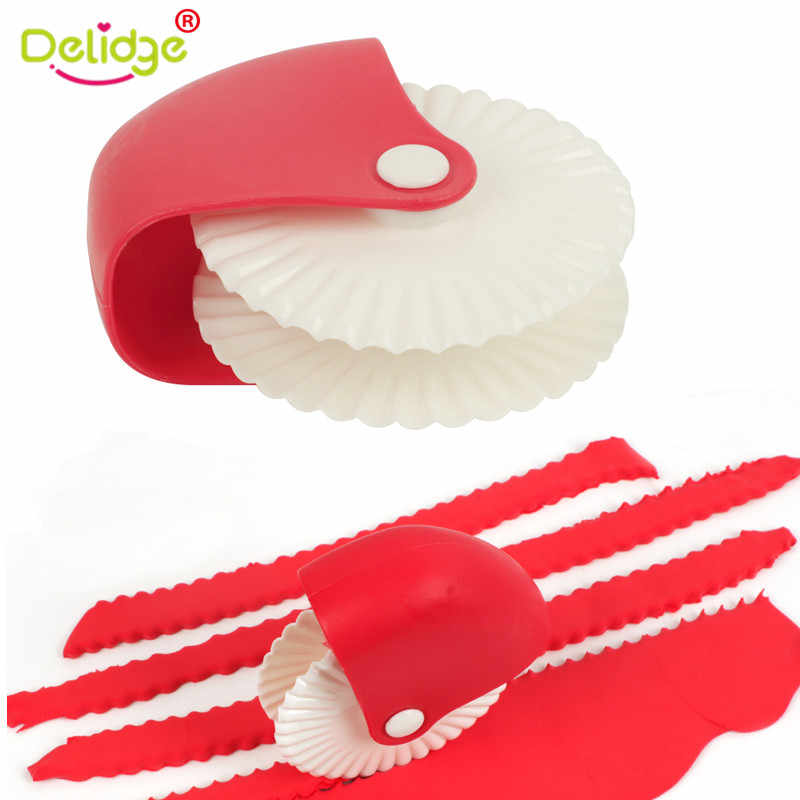 Spaghett Noodle Maker Lattice Cutter Pastry Decoration Knife Plastic Wheel Roller Pizza Pastry Crust  DIY Dough Cutting Tools