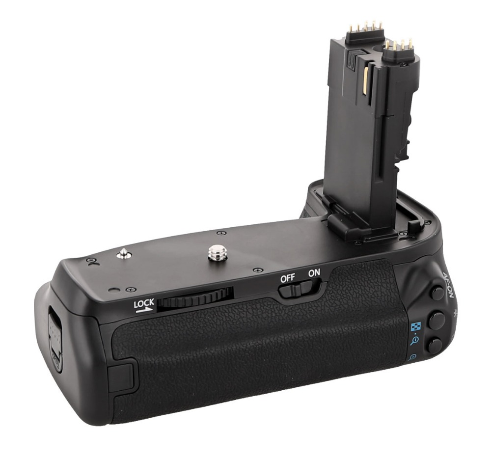 MEKE Meike MK-70D BG-E14 vertikalus akumuliatoriaus rankenos - Fotoaparatas ir nuotrauka - Nuotrauka 1
