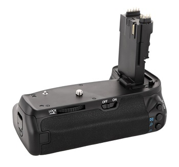 MEKE Meike MK-70D BG-E14 vertikaler Batteriegriffhalter für Canon EOS 70D 80D 90D Kameras