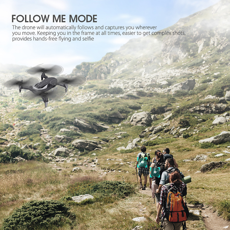 Eachine E511S GPS Dynamic Follow WIFI FPV Video With 5G 1080P Camera RC Drone Quadcopter Helicopter VS XS816 SG106 F11 S167 Dro 3