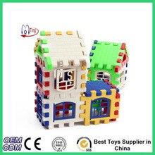 Newest House Building Blocks Educational Baby Brain Learning Construction Developmental Toy Set