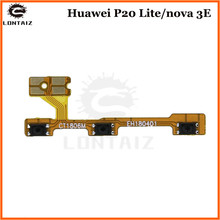 For Huawei P20 lite Power ON OFF Volume Key Side Button Switch Flex Cable For Huawei Nova 3e Replacement Repair Spare Parts repair parts replacement left right button volume flex cable set for psp go black green