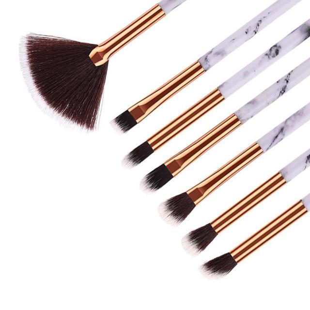 1/6/10Pcs Marbling Makeup Brushes Kit Marble Pattern Brush Set Eye Shadow Beauty Make Up Brush Cosmetic Tools Hot Sale 5