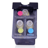 refillable color ink cartridge replacement for HP 46 compatible for HP 2520hc 2020hc printer