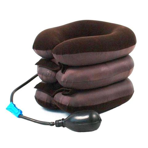 NEW Inflatable Air Cervical Neck Traction Neck Massage Soft Brace Device Unit Headache Head Back Shoulder Neck Pain Health Care Karachi