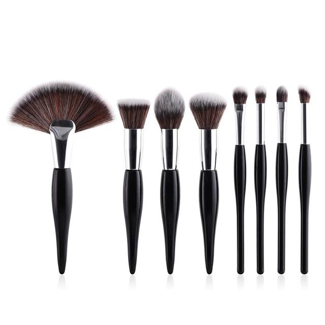 MSQ 2019 8 x Pro pinceles maquillaje en polvo Fundación sombra delineador de ojos cepillo al por mayor herramienta Z4
