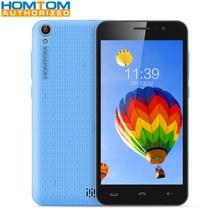 Orijinal Homtom HT16 5.0 inç 3G Smartphone MTK6580 Quad Core 1 GB RAM 8 GB ROM Uyandırma Jest 5MP kamera 3000 mAh Cep Telefonu