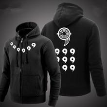 Naruto Толстовки 2017 Аниме Ootutuki Hagoromo Rikudo Sennin Косплей Пальто Наруто Зимняя Куртка Мужчины Толщиной Молнии С Капюшоном Кофты