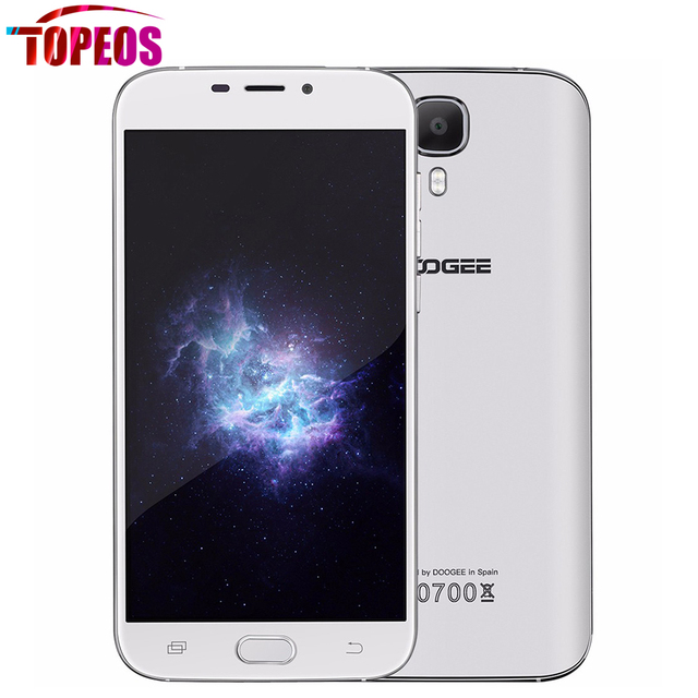 "Original DOOGEE X9 Mini MT6580 Quad Core Mobile Phone 1GB RAM 8GB ROM 5.0"" inch Android 6.0 Dual SIM 8.0MP 3G WCDMA 1280*720"