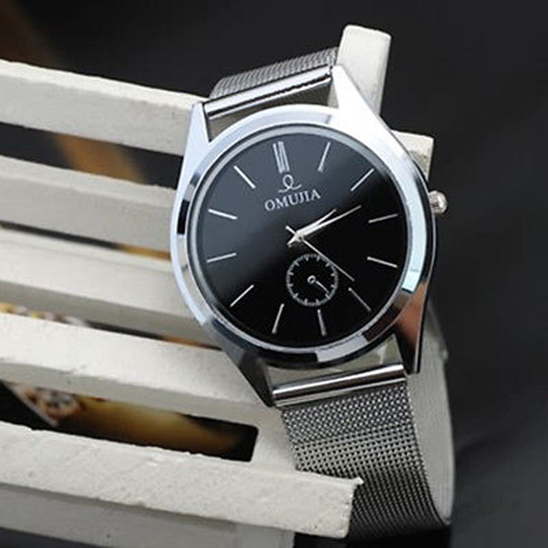 Orologio Uomo Watch Men Women Stainless Steel Band Quartz Wrist Watches Relogio Masculino Mens Watches Top Brand Luxury Clock цена