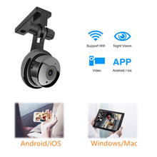 Mini Wireless Wifi cctv Camera For phone Night Vision Security Home Surveillance Video ip Camera Motion Detection Baby Monitor sacam hd 720p wifi camera wireless ip network video surveillance baby monitor night vision motion detection home alarm security
