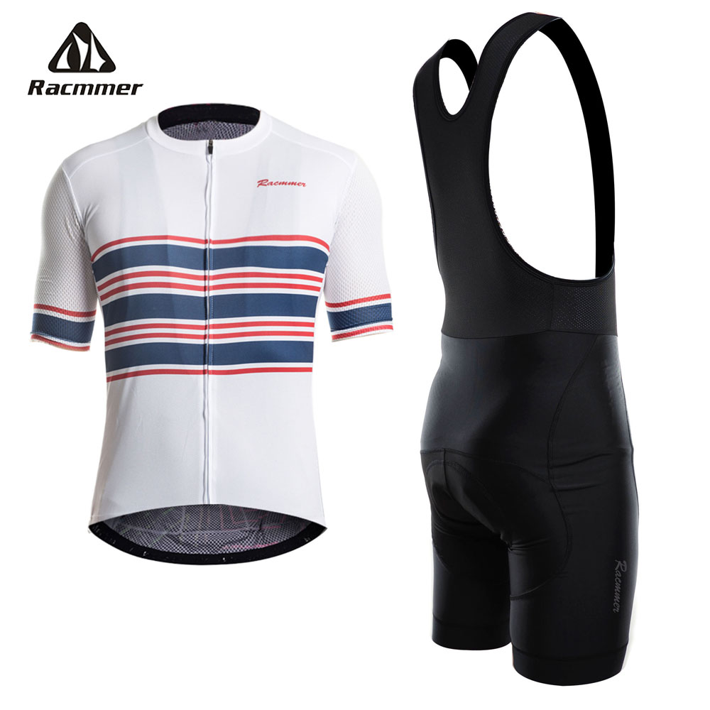 Racmmer 2018 Cycling Jersey Set PRO TEAM AERO Bike Clothes Summer Bicycle Clothing Cycling Set Maillot Conjunto Ropa Ciclismo