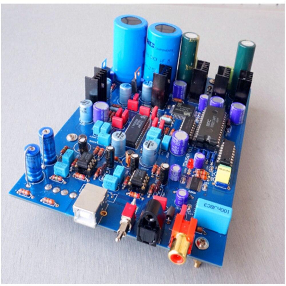 New DIR9001+SM5813+SAA7350+TDA1547 DAC Board 16Bit 48Khz Better Than TDA1541
