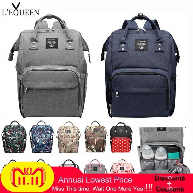 42e38e1a371 26 Styles Fashion Mummy Maternity Nappy Bag Brand Large Capacity Baby Bag  Travel Backpack Designer Nursing