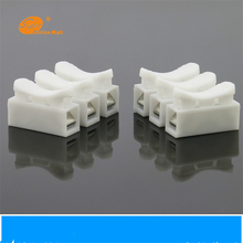 10x 3p Spring Connector wire with no welding screws Quick cable clamp Terminal Block 3 Way Easy Fit for  led strip