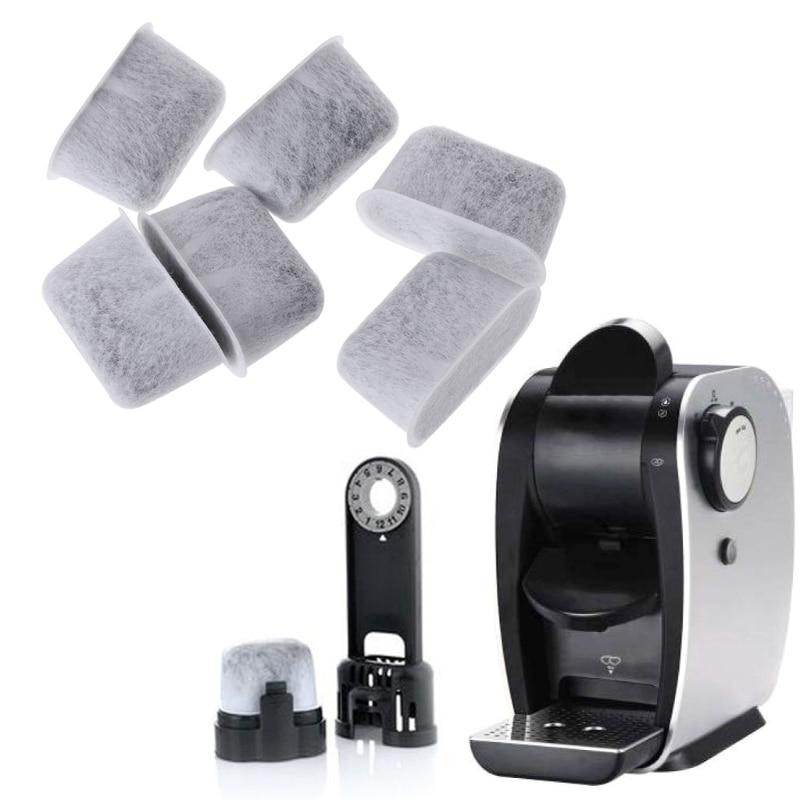 Marca 6 Piezas Máquina De Café Filtro De Carbón Activado No Tejido De Bambú Carbón Agua Núcleo Cocina Cafetera Accesorios Clasificar Primero Entre Productos Similares