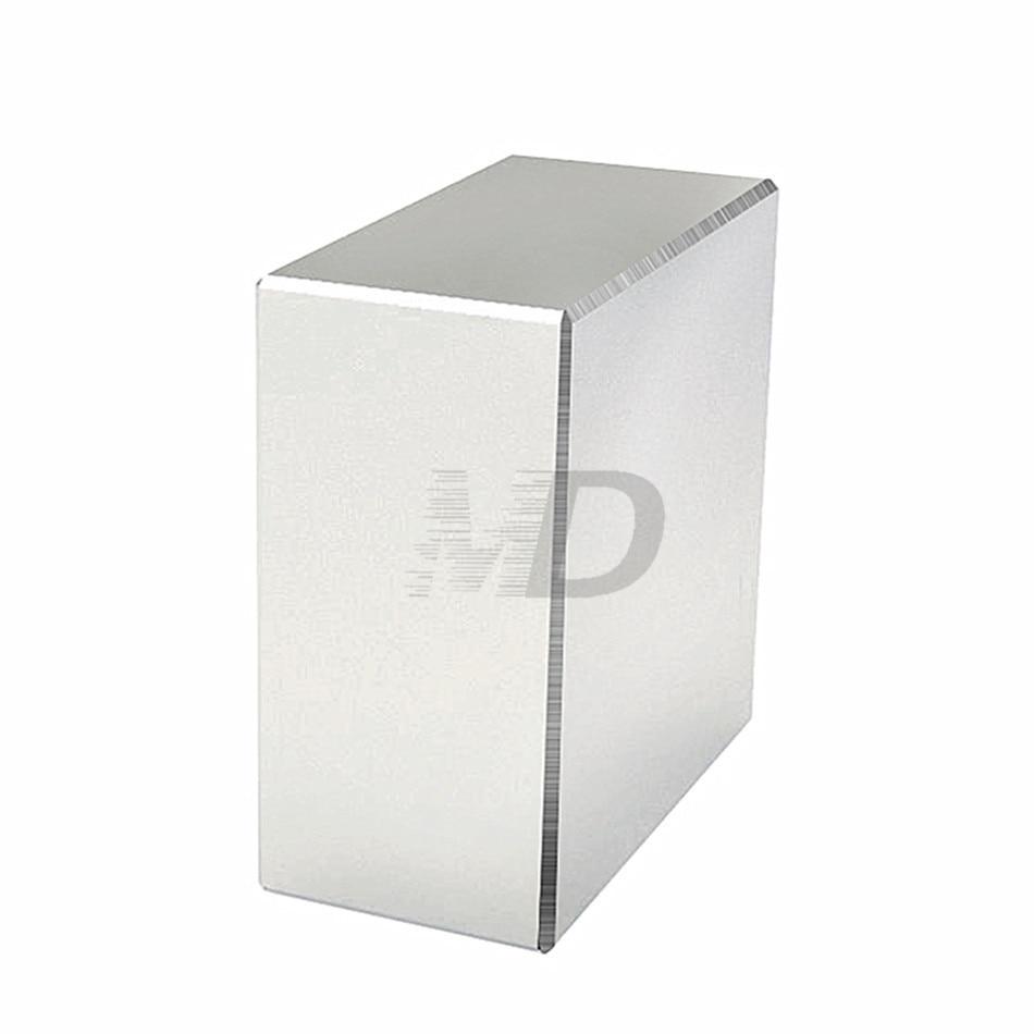 1 unids bloque 40x40x20mm Super fuerte N52 de alta calidad raras tierra imanes de neodimio de imán