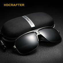 HDCRAFTER Fashion Polarized Sunglasses Brand Designer Men Outdoor fishing Sun Glasses High Quality 4 Colors oculos de sol