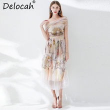 robe imprimé élégante paillettes