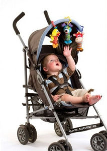 Image 2 - Kids Baby Lovely Soft Animal Handbell Rattles Handle Stroller Development Toy Baby Rattles Bed Bell Stroller Toys