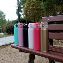 500ML Outdoor Contracted Style Sports Water Bottle Stainless Steel Fashion Cup Thermoses Aluminum Coffee High Quality New Mugs