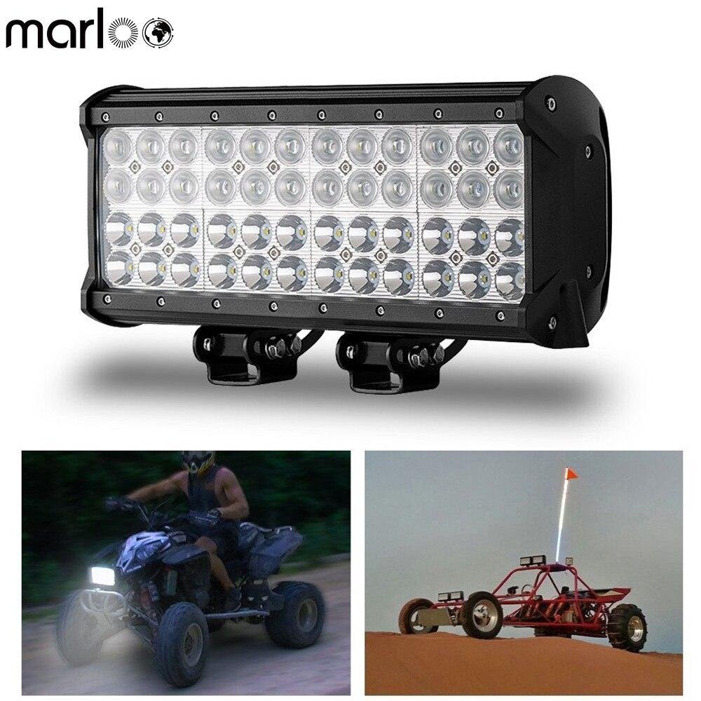 Marloo 4 ряда 12 дюймов 144 Вт светодиодный свет бар бездорожью 4x4 седельный тягач лодка внедорожник ATV авто Интимные аксессуары светодиодный свет