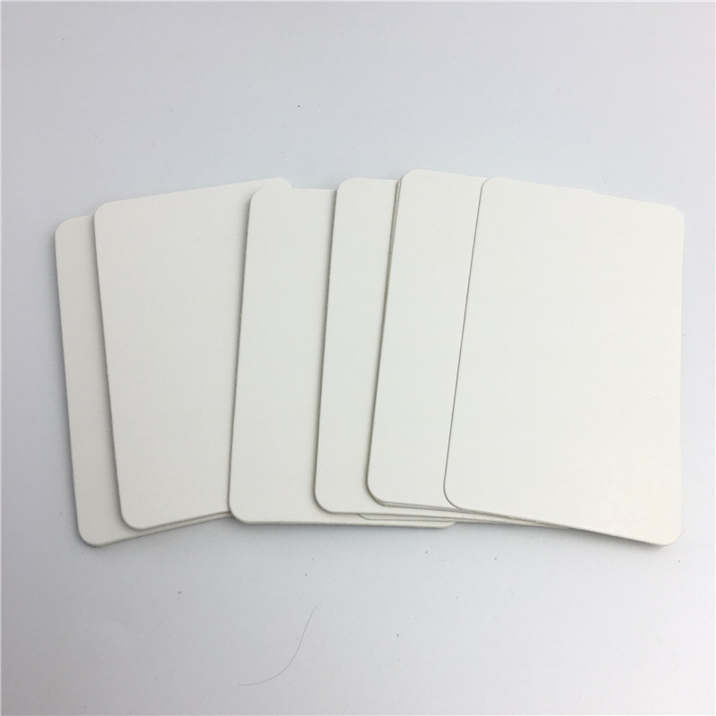100pcs/lot White Paper Cards Luggage Wedding Note Blank Wedding Invitations  10*6cm Without