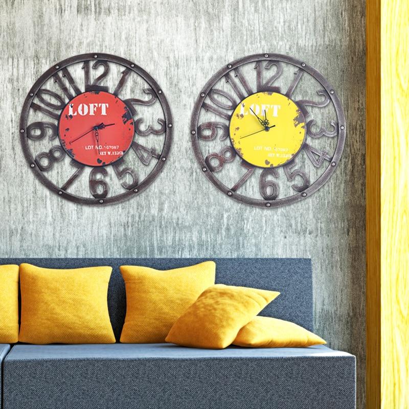 2017 zegar ścienny Saat Reloj zegar Relogio de parede duvar saati - Wystrój domu - Zdjęcie 3