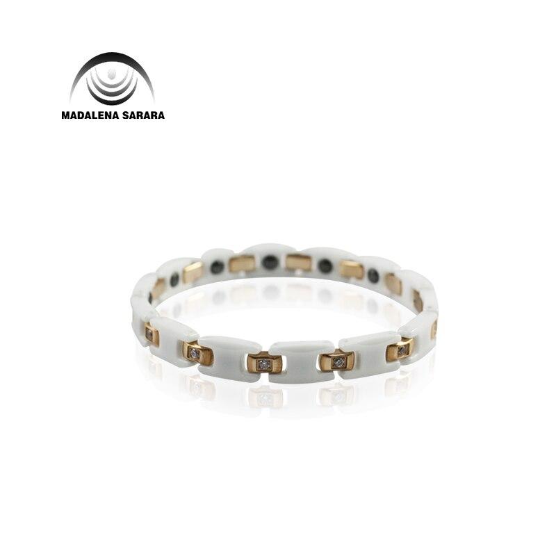 MADALENA SARARA Premium Titanium Steel Ceramic Energy