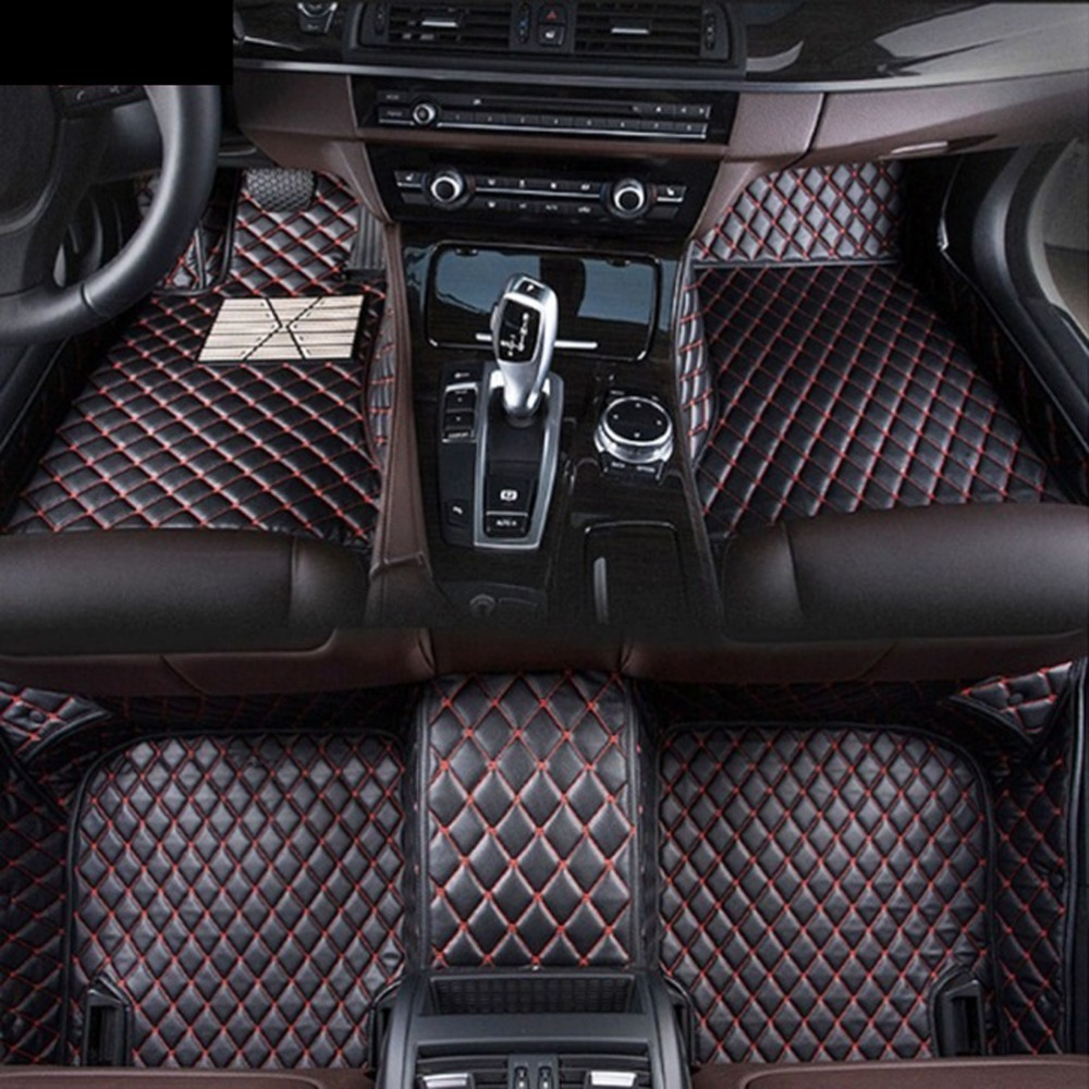 Pour BMW Série 1 F20 F21 116 118 120 125 135 2015 2016 2017 Voiture-Style Personnalisé Tapis De Sol De Voiture