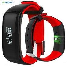 P1 SmartBand трекер Smart часы Приборы для измерения артериального давления Мониторы Smart Band шагомер браслет Фитнес браслет для IOS Andriod