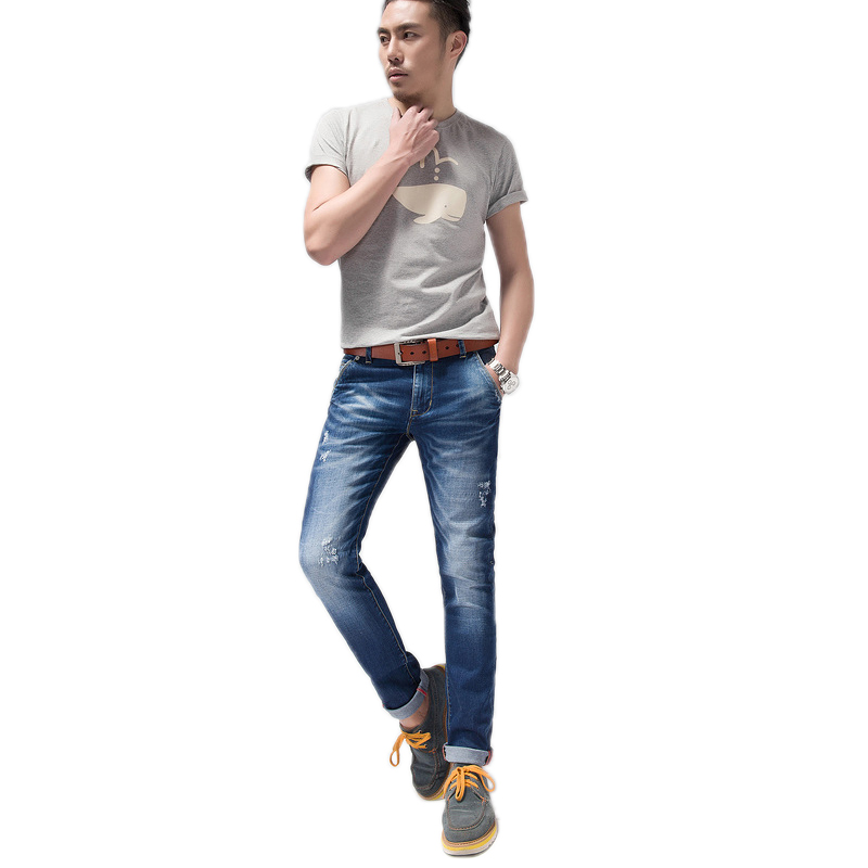 New Mens Jeans Hot Sale Men Jeans Brand Pants Famous Brand Fashion Designer Jeans Men Slim Denim Straight In Jeans MAPP04073 2017 fashion patch jeans men slim straight denim jeans ripped trousers new famous brand biker jeans logo mens zipper jeans 604