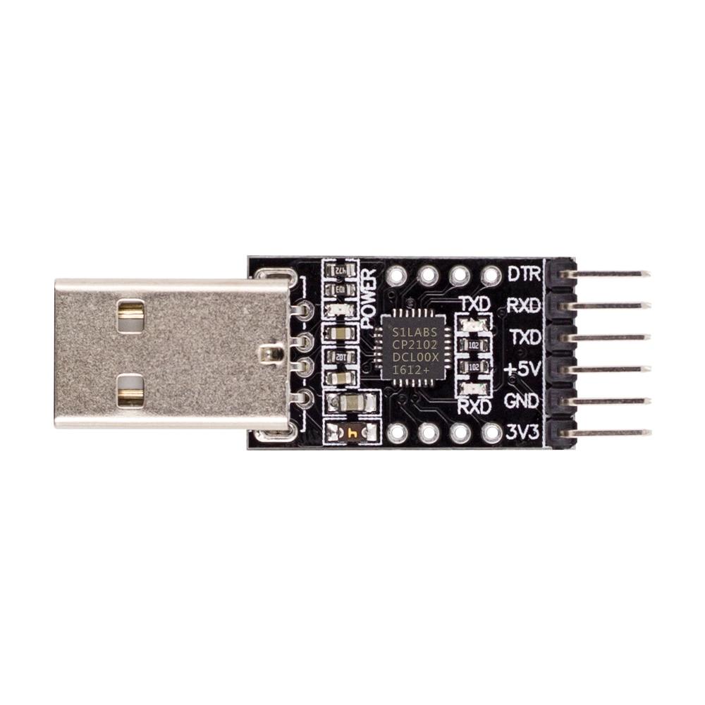 3,3v//5v TIPO A USB to TTL Convertitore UART 5 Pin Serial STC Chip cp2102 moduli Ardu