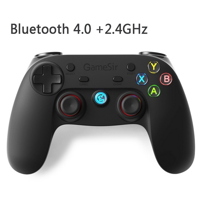 US $27 99 |GameSir G3s Gamepad for PS3 Controller Bluetooth&2 4GHz snes nes  N64 Joystick PC for Samsung Gear VR Box for SONY Playstation 3-in Gamepads