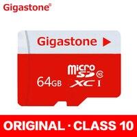 Gigastone 100 Original MicroSDHC Card 64GB Micro SD Class 10 Cartao De Memoria Carte SD Card