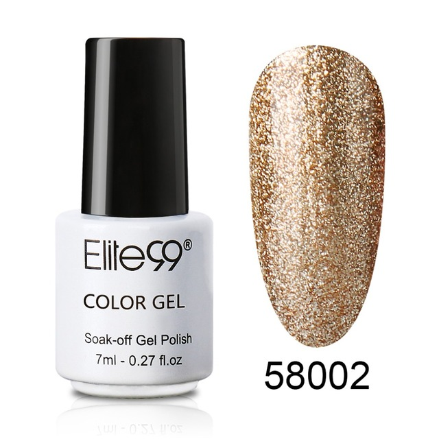 Elite99 7 ml Gel Nagellack in Nagel Gel platin UV gel polnischen Emaille Glitter Nagellack Pick Jede 15 Farben