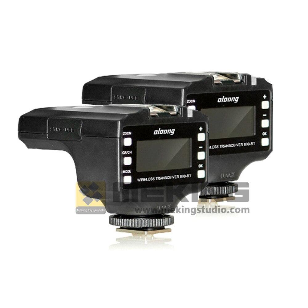 ФОТО 2pcs Oloong  Wireless ITTL Flash Trigger 800-RT LCD 1/8000s for Nikon D7100 D7000 D5200 D5100 D5000 D3200 D3100 D3000