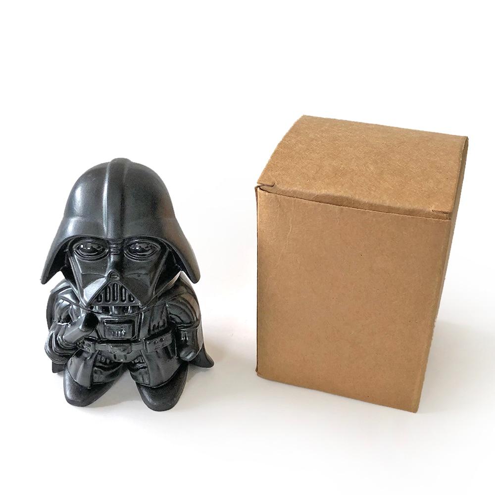 GERUI Star Wars Darth Vader Shape Herb Grinder Zinc Alloy Creative Design Tooth Tobacco Grinder Cigarette Smoking in Tobacco Pipes Accessories from Home Garden