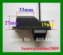 Бесплатная доставка! Sony CCD авто зеркало заднего вида изображения камеры для фольксваген поло ( 6R ) / 6 в . и . / Passat CC с руководство по линии